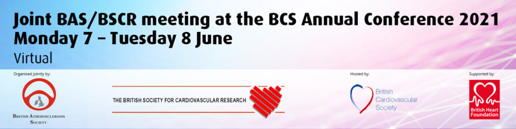 Joint BAS/BSCR at the BCS Annual Conference 2021